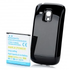 Replacement 3.7V 2100mAh Battery Pack + Back Case for Samsung i8190 Galaxy S3 Mini - White + Black