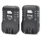 PIXEL KING/S High Speed 2.4GHz 7-CH Wireless TTL Flash Trigger for Sony A850 / 700 - Black