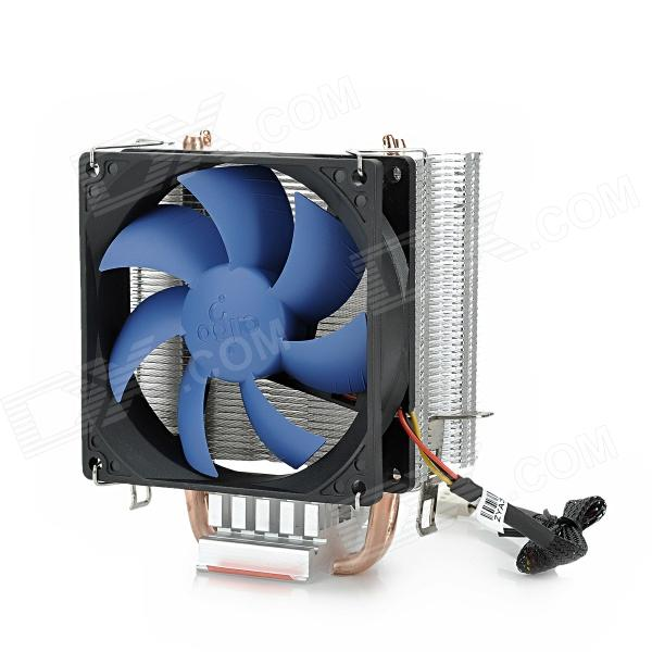 aigo M4 CPU Cooler for LGA 1366 / 1156 / 775 / AMD AM2 / 754 / 939 / 940 - Black pccooler 4 heatpipes radiator quiet 4pin cpu cooler heatsink fan cooling with 120mm fan for amd 754 939 940 am2 am2 am3 fm1 fm2