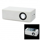 Mini Wireless Interaction Amplifying Speaker for Iphone / Samsung + More - White (3 x AA)