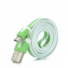 USB 2.0 to Micro 5Pin Data Cable for Dopod / HCT / Motorola / Samsung - Green + White + Blue (100cm)