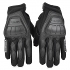 SCOYCO MC08 Full-Fingers Motorcycle Racing Gloves - Black (Size M)