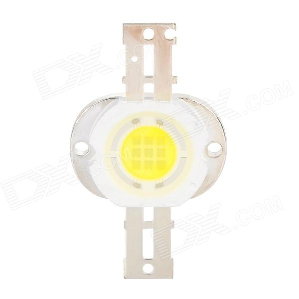 JY-10W-W DIY 10W 900lm 6300K White Light 3x3 LED Emitter Module - Yellow + White + Silver