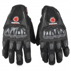 SCOYCO MC09 Full-Fingers Motorcycle Racing Gloves - Black (Size M)