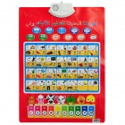 Infants Enlightenment Early Education Sound Wall Chart Voice Toy - Arabic English Style (3 x AAA)