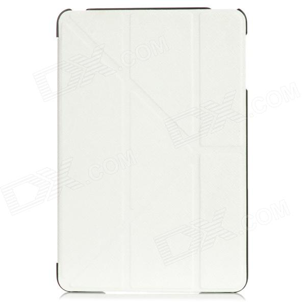 Ultra-Thin Cool Protector PU Funda de Cuero para Ipad MINI - Blanco