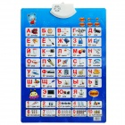 Infants Enlightenment Early Education Sound Wall Chart Voice Toy - Russian Style (3 x AAA)