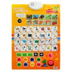 Infants Enlightenment Early Education Sound Wall Chart Voice Toy - Arabic Quran Style (3 x AAA)
