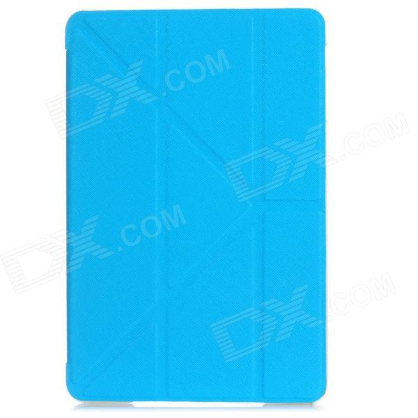 Ultra-Thin Cool Protective PU Leather Case for Ipad MINI - Blue