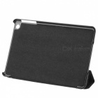 Ultra-Thin Cool Protector PU Funda de Cuero para Ipad MINI - Negro