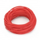DIY Protective Knit Mesh Cable Cover Shield for Computer Power / Audio Cable + More - Red (30m)