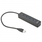 ORICO W8PH4-U3 4-HUB USB 3.0 Hub - Black