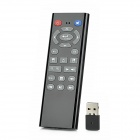 KP-810-20 Handheld 2.4G Wireless Air Mouse Remote 20-Key Keyboard w/ Gyroscope - Black + Grey