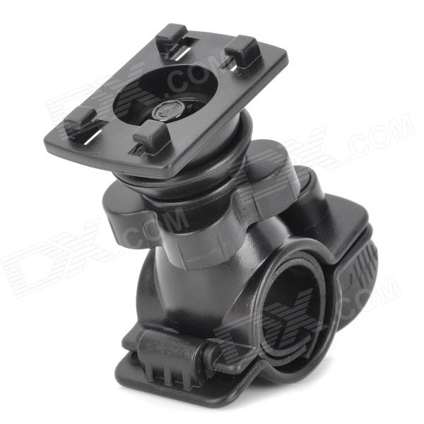 Universal Motorcycle Bicycle ABS Base soporte para teléfono celular / Interphone / GPS - Negro