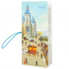 Fashion Town of Paris Style Multi-Function Card / Passport Holder - Multicolor