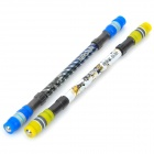 ZHIGAO ZG-5028 Spinning Ballpoint Pen - Yellow + Dark Blue (2 PCS)
