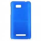 Protective Plastic Case for HTC T528w - Blue