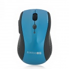 ZUNTUO ZT-302-HEISE 2.4GHz 800 / 1200 / 1600 / 2000dpi Wireless Optical Mouse - Black + Blue