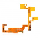 Replacement Microphone Flex Cable for LG P940 - Golden