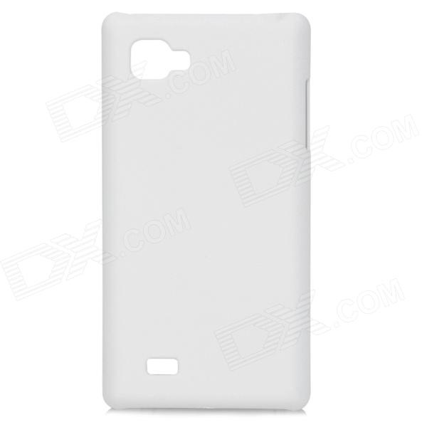 Protective PC Back Case for LG P880 - White lg mb65w95gih white свч печь с грилем