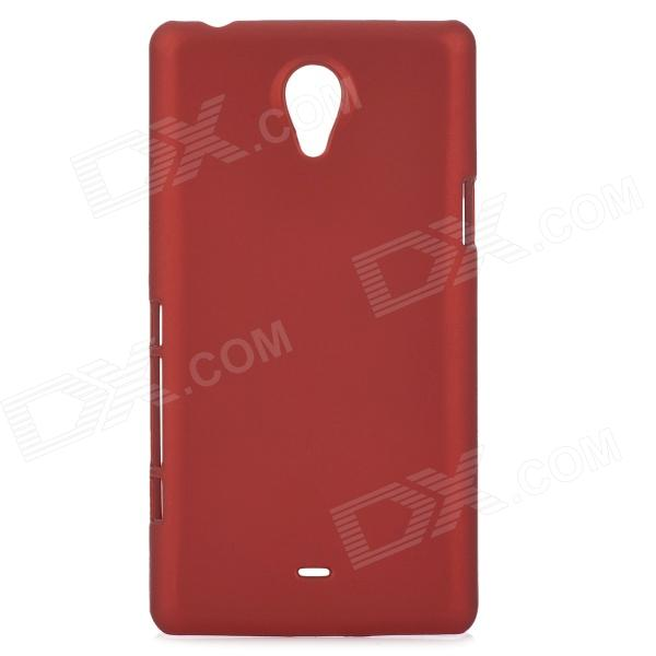 Protective Plastic Back Case for Sony Xperia T LT30i / LT30P - Deep Red sony xperia p в алматы