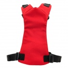 Y1310 Pet Dog Vest w/ Leash - Red