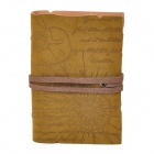 Retro Style PU Leather Card Holder Pouch - Brown