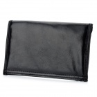 Anti-Radiation Soft PU Leather Signal Shielding Bag for Cell Phones - Black