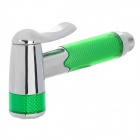 Handheld Spray Head Gun - Green + Silver