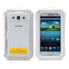 iPega PG-Si016 Ultra-Thin Waterproof Protective Case for Samsung Galaxy S3 i9300 - White