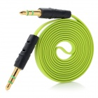 3.5mm Male to 3.5mm Male Stereo Audio Cable for Cell Phones / Speakers - Green (100cm)