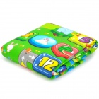 Monopoly Game Pattern Baby Crawl Play Thicken Mat Pad - Multicolor