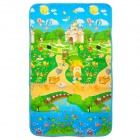 Children's Playground Pattern Baby Crawl Play Thicken Mat Pad - Multicolor