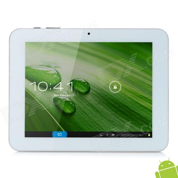 """AMPE A86 8"""" Capacitive Screen Android 4.1 Dual Core Tablet PC w/ TF / Wi-Fi / Camera - Silver"""