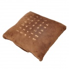 JKT009 Pillow Style Multi-Functional Remote Controller - Coffee (2 x AAA)