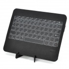Portable Ultra-Slim Bluetooth v2.0 Mini 66-Key Keyboard for Ipad - Black