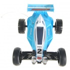 Remote Controlled R/C Rechargeable Racing Kart Car with Desktop Stand (35MHz)