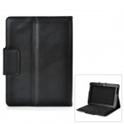 "Wireless 78-Key Bluetooth Keyboard w/ PU Leather Case for Samsung 10.1"" N8000 + More - Black"
