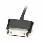 EU Plug Power Adapter + Charging Cable for Samsung Galaxy Tab2 P5100 / N8000 / P3100 + More - Black