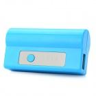 HCHC S-313 Portable External 2600mAh Power Bank for iPad / iPhone / Samsung / HTC / Xiaomi - Blue