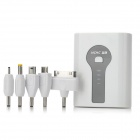 "HCHC S-316 Portable External ""5000mAh"" Power Bank for iPad / iPhone / Samsung / HTC - White + Black"