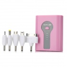 "HCHC S-316 Portable External ""5000mAh"" Power Bank für iPad / iPhone / Samsung / HTC - Pink + Black"