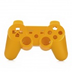 Replacement Full Housing Cases w/ Direction + Function Key fro PS3 Wireless Controller - Golden