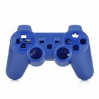 Replacement Full Housing Cases w/ Direction + Function Key fro PS3 Wireless Controller - Deep Blue
