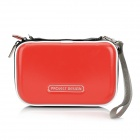 Protective PU Leather Pouch for Nintendo 3DS LL / XL - Red