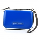 PROJECTDESIGN Protective PU Leather Pouch for Nintendo 3DSLL / 3DSXL - Blue