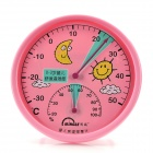 MINGLE TH101A Baby Room Table Style Thermometer Hygrometer - Pink