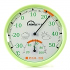 MINGLE TH101E Baby Room Table Style Thermometer Hygrometer - Green