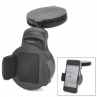 LSON 8510 Folding Car Windshield Swivel 360 Degree Rotating Mount Holder for Cell Phone - Black