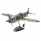 Art-Tech P-47 4-CH 2.4GHz Radio Control R/C Model Fighter w/ Transmitter - Army Green